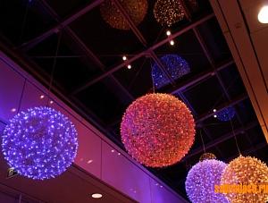 Светодиодные подвесы шары